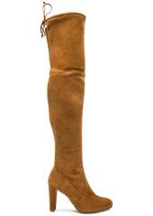 Stuart Weitzman Suede Highland Boots