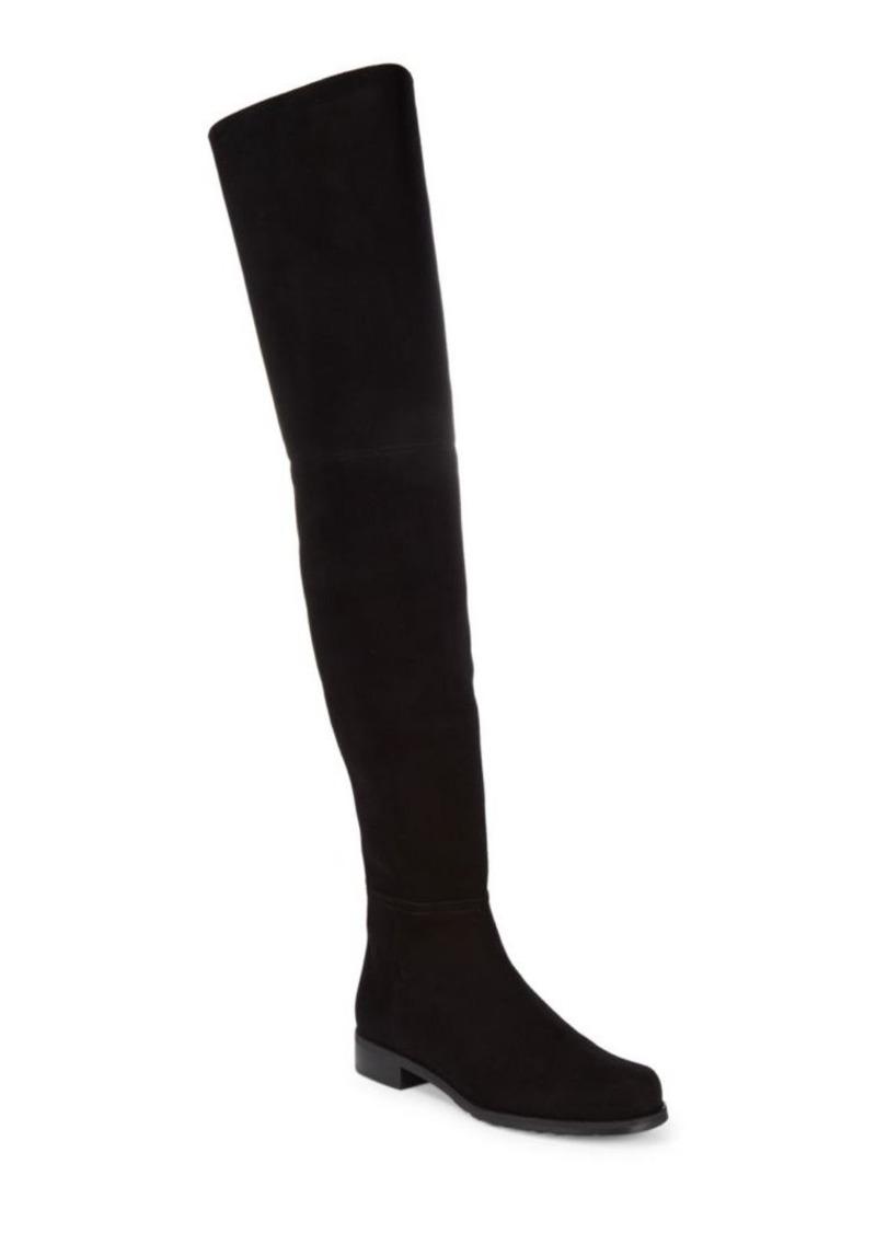 Stuart Weitzman Hilo Suede Knee-High Boots