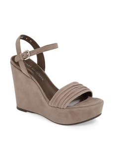 Stuart Weitzman Sundraped Wedge Sandal (Women)