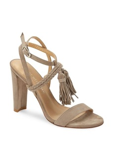 Stuart Weitzman Tangled High Heel Leather Sandals