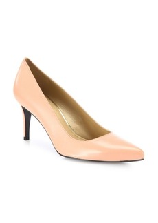 Stuart Weitzman Tessa Suede Point Toe Pumps