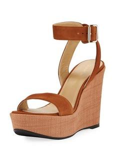 Stuart Weitzman Truex High Wedge Platform Sandal