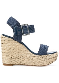 Stuart Weitzman wedge sandals - Blue