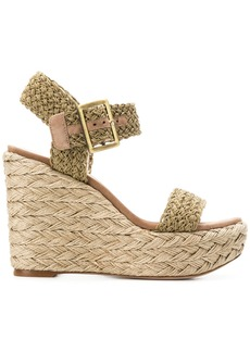 Stuart Weitzman wedge sandals - Nude & Neutrals