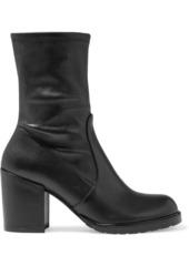 Stuart Weitzman Woman Dalenna Stretch-leather Ankle Boots Black