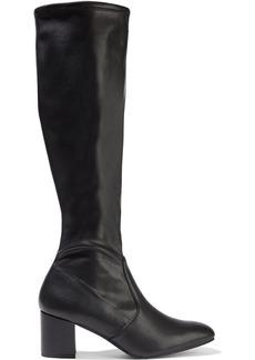 Stuart Weitzman Woman Frannie 60 Stretch-leather Knee Boots Black