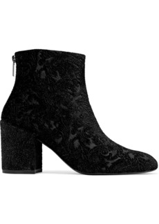 Stuart Weitzman Woman Leather Ankle Boots Black