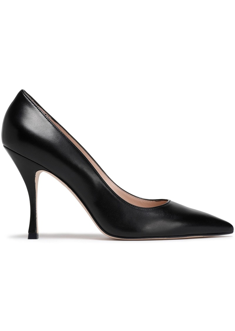 Stuart Weitzman Woman Leather Pumps Black