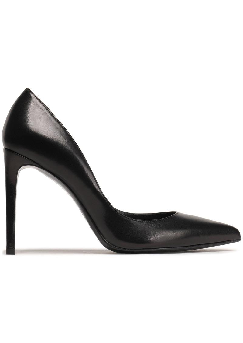 Stuart Weitzman Woman Leather Pumps Black
