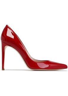 Stuart Weitzman Woman Leather Pumps Crimson