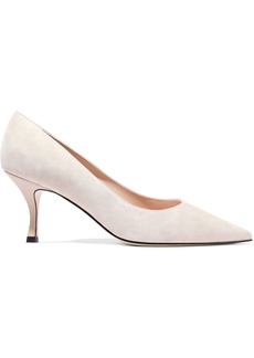 Stuart Weitzman Woman Leather Pumps Neutral