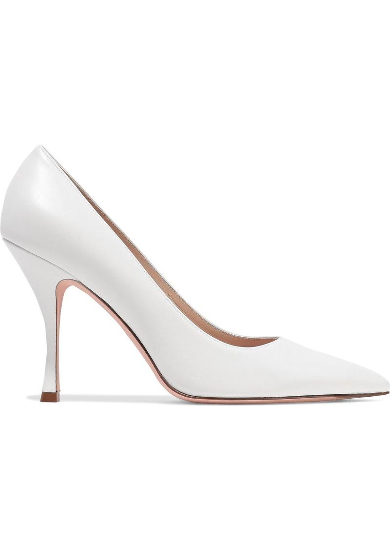 Stuart Weitzman Woman Leather Pumps White
