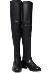 Stuart Weitzman Woman Lorene Stretch-leather Over-the-knee Boots Black