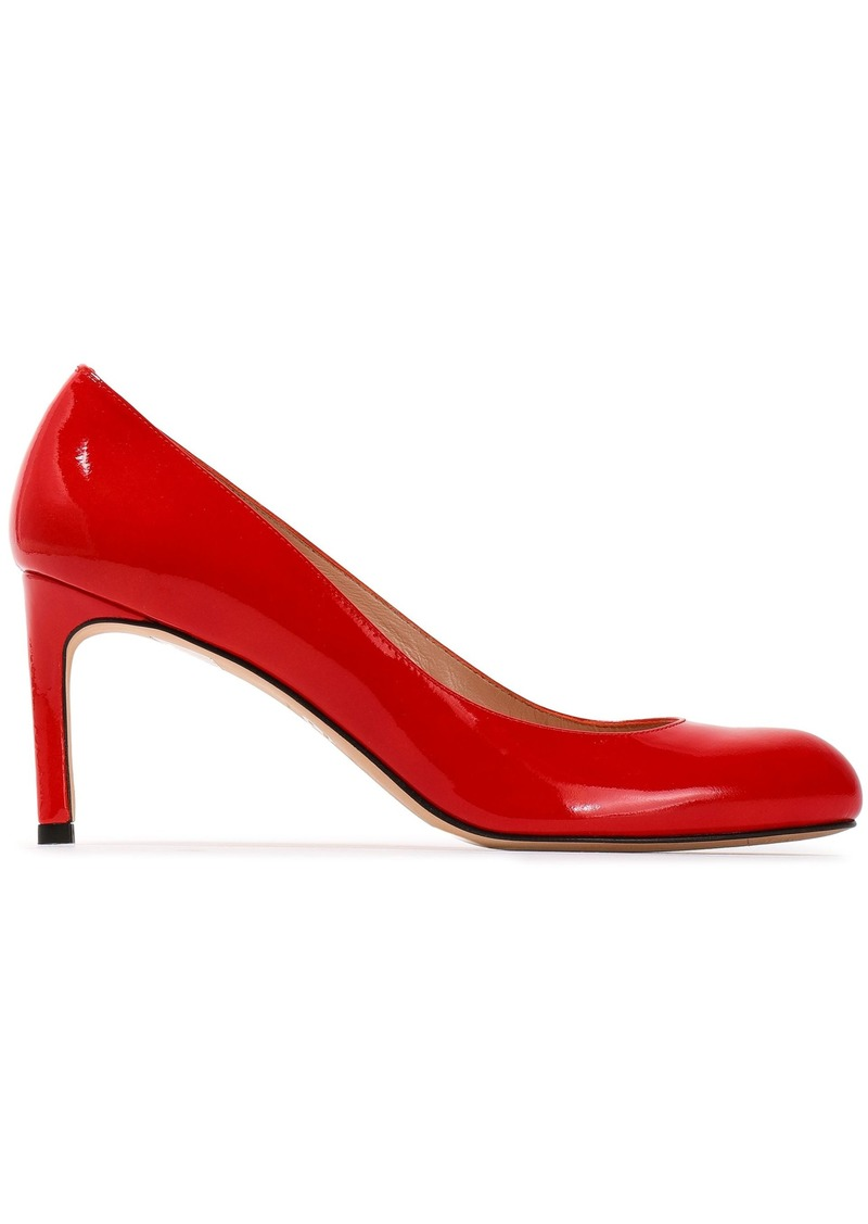 Stuart Weitzman Woman Patent-leather Pumps Red