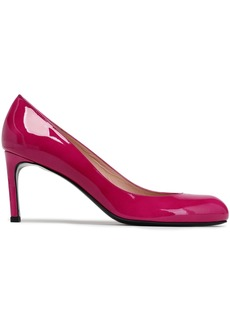 Stuart Weitzman Woman Patent-leather Pumps Magenta