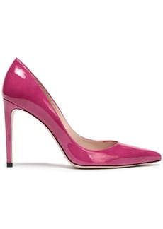 Stuart Weitzman Woman Leather Pumps Magenta