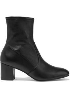Stuart Weitzman Woman Siggy 60 Stretch-leather Ankle Boots Black