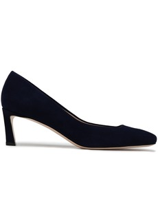 Stuart Weitzman Woman Suede Pumps Navy