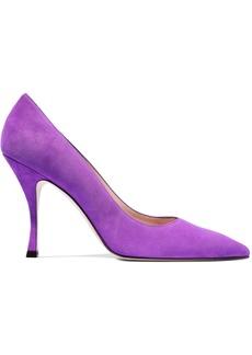 Stuart Weitzman Woman Suede Pumps Violet
