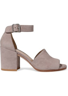 Stuart Weitzman Woman Suede Sandals Taupe