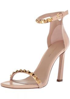 Stuart Weitzman Women's 100ROSIS Heeled Sandal  9 Medium US