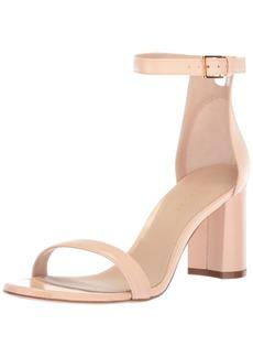 Stuart Weitzman Women's 75LESSNU Heeled Sandal  9 Medium US