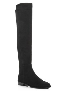 Stuart Weitzman Women's Allgood Suede Over-the-Knee Boots