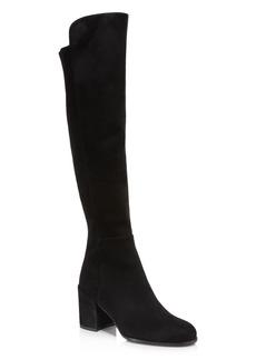 Stuart Weitzman Women's Alljack Suede Over-the-Knee Boots