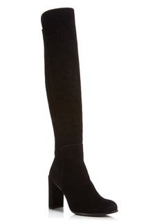 Stuart Weitzman Women's Alljill Suede Over-the-Knee Boots