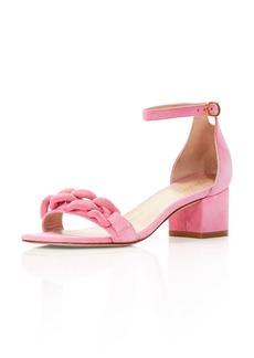 Stuart Weitzman Women's Amelina Block Heel Sandals