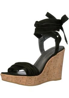 Stuart Weitzman Women's Backagain Wedge Sandal