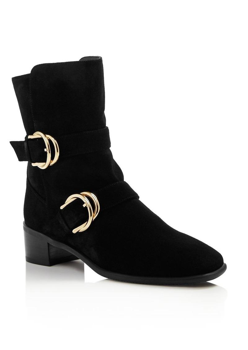 Stuart Weitzman Women's Britain Mid-Calf Boots