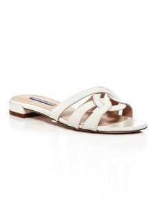 Stuart Weitzman Women's Cami Knotted Slide Sandals
