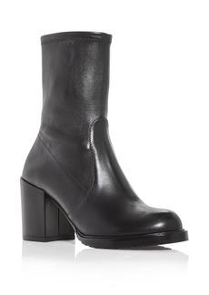Stuart Weitzman Women's Dalenna Block Heel Boots