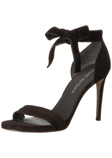 Stuart Weitzman Women's Enwraplot Heeled Sandal  9.5 Medium US