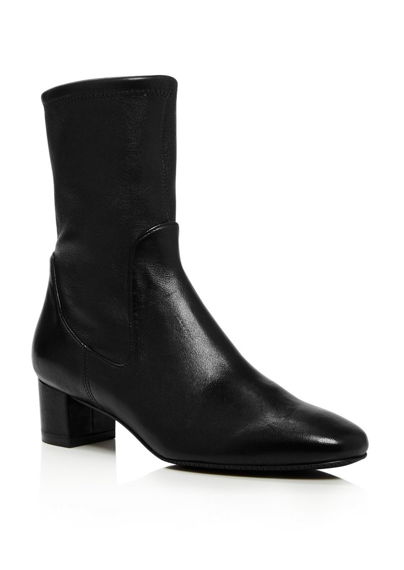 Stuart Weitzman Women's Ernestine Mid-Calf Leather Boots