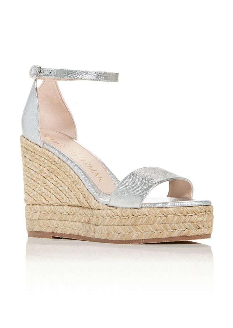 Stuart Weitzman Women's Floria Wedge Platform Espadrille Sandals - 100% Exclusive