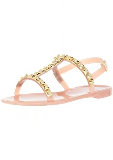 Stuart Weitzman Women's Jelrose Flat Sandal  9 Medium US