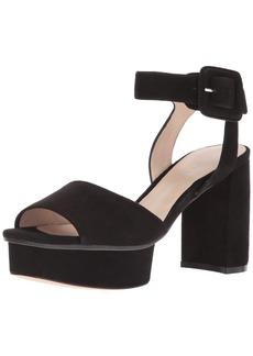 Stuart Weitzman Women's Newdeal Heeled Sandal  8.5 Medium US