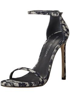 Stuart Weitzman Women's Nudist Heeled Sandal  8.5 M US