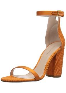 Stuart Weitzman Women's Nuquilt Heeled Sandal  7.5 Medium US