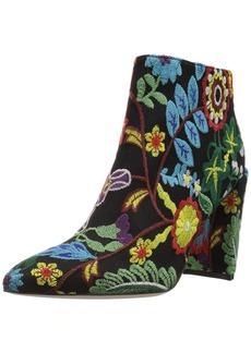 Stuart Weitzman Women's Pure Ankle Boot Multi BOTANTIC Embroidery  Medium US
