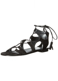 Stuart Weitzman Women's Romanflat Gladiator Sandal