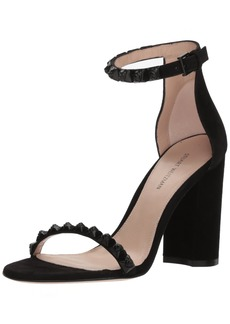 Stuart Weitzman Women's Rosemari Heeled Sandal  5.5 Medium US