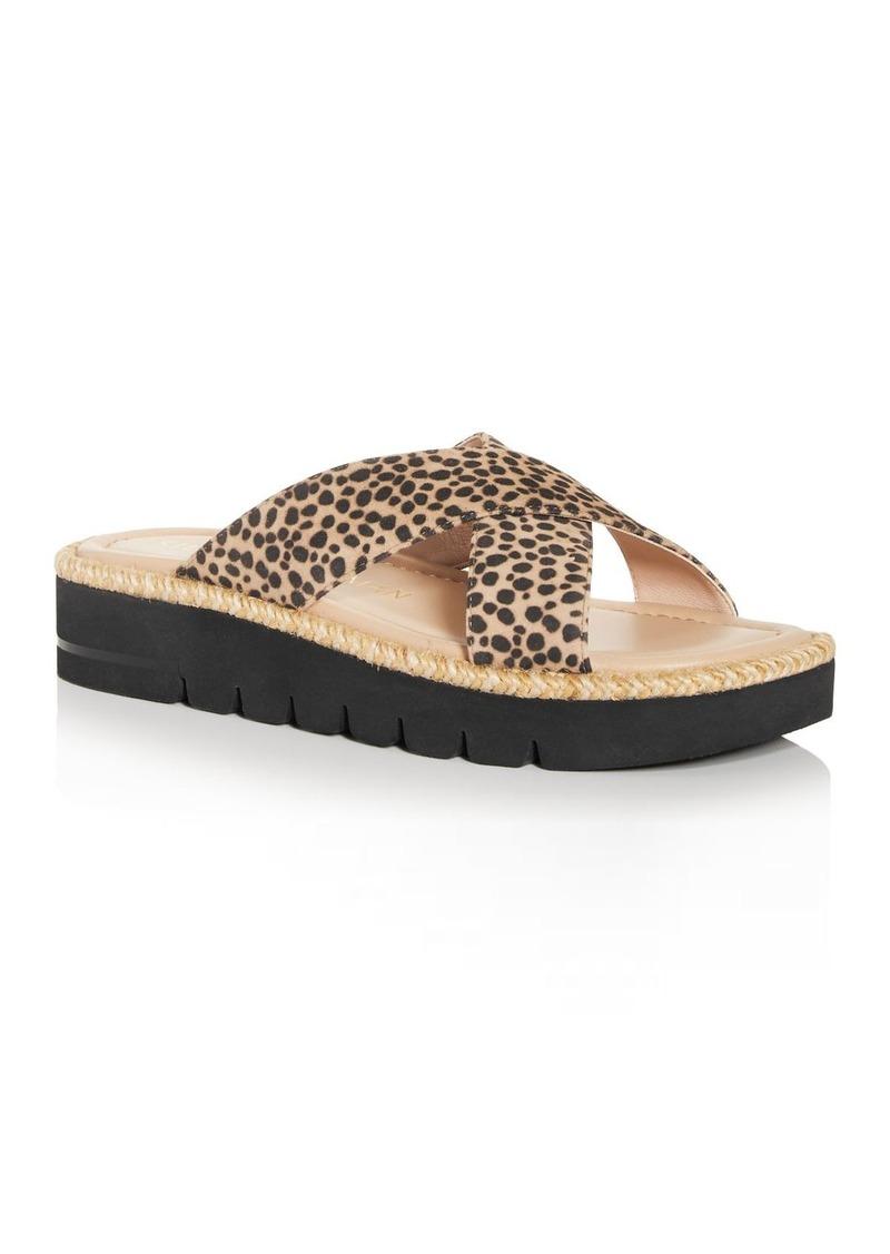 Stuart Weitzman Women's Roza Lift Slide Sandals