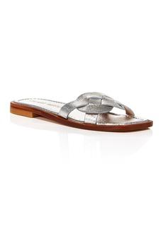 Stuart Weitzman Women's Sierra Slip On Sandals