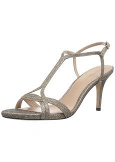 Stuart Weitzman Women's Sunny Heeled Sandal  8 Medium US