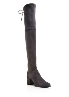 Stuart Weitzman Women's Tieland Suede Over-the-Knee Boots