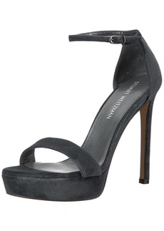 Stuart Weitzman Women's Tour Heeled Sandal   Medium US