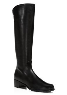Stuart Weitzman Women�s Villepentagon Leather Tall Boots
